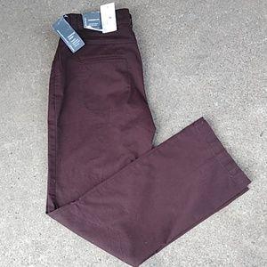 NWT Christopher & Bank pants sz 6p